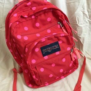 Jansport Red & Pink Backpack